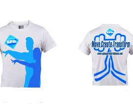 arunsuria tarafından Design a T-Shirt for a dance/yoga/fitness studio için no 11