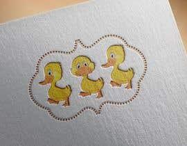 ahmad111951 tarafından Design cartoon Logo for 3 little ducks and their lunch orders için no 9