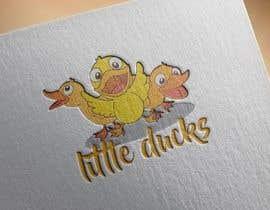 ahmad111951 tarafından Design cartoon Logo for 3 little ducks and their lunch orders için no 12