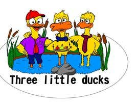 andrewaddey tarafından Design cartoon Logo for 3 little ducks and their lunch orders için no 16