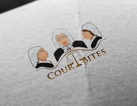 #39 untuk Design a Logo - Court Bites - Legal Education oleh bluebellgraphic