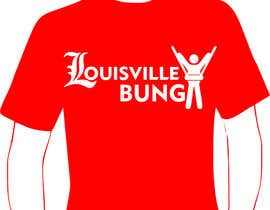 "vale29 tarafından Design a T-Shirt for ""Louisville Bungy"" için no 10"