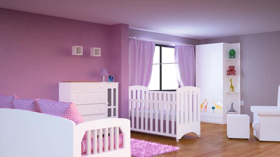 Inscrição nº                                         1                                      do Concurso para                                         projeto de decoração de quarto de Bebe