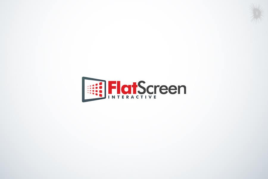 #83 for Logo Design for Flat Screen Interactive by D1Ltd