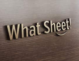 #55 para Design a Logo for What Sheet! por lindoro