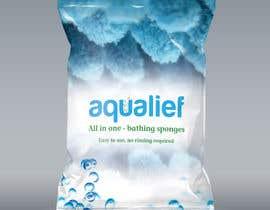visvajitsinh tarafından Create  Packaging Design for aqualief all in one bathing sponge için no 18
