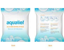 lareveuse tarafından Create  Packaging Design for aqualief all in one bathing sponge için no 12