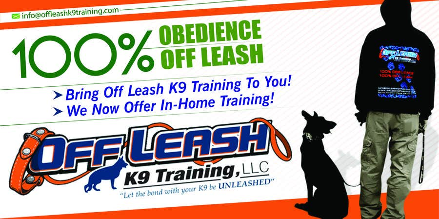 #15 for Design an Advertisement for Dog Training Business by eshad222
