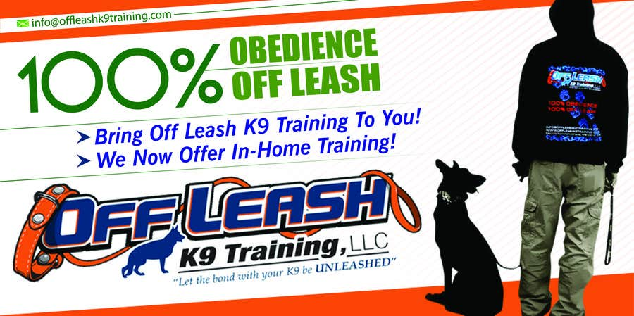 #16 for Design an Advertisement for Dog Training Business by eshad222