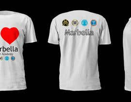 #20 for Designa en t-shirt for Marbella Event Academy by nadeekadt