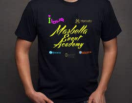 nº 13 pour Designa en t-shirt for Marbella Event Academy par Othello1