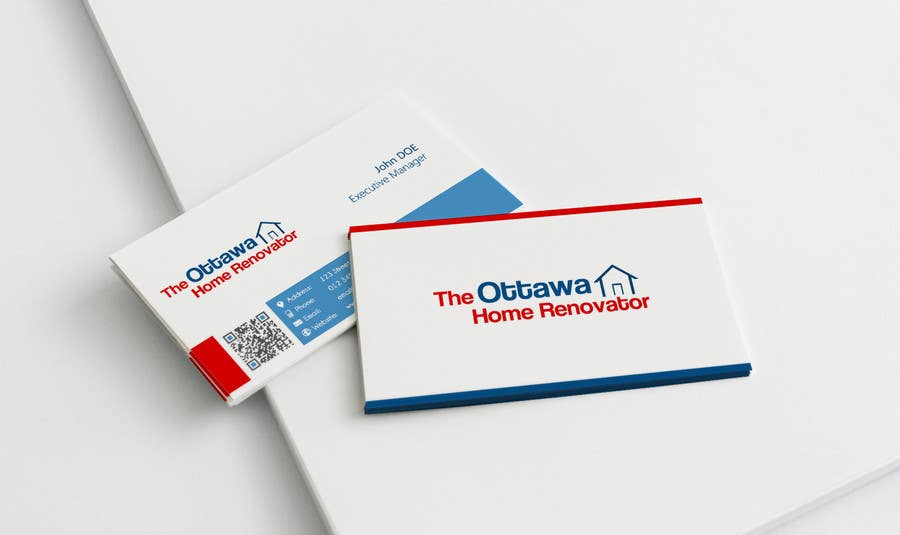 #22 for Design some Business Cards for The Ottawa Home Renovator by thewolfmenrock