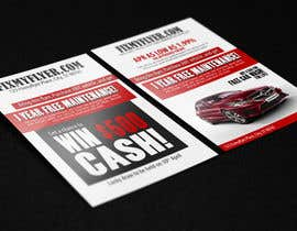 #9 cho Design a Flyer for Local Car Dealership bởi umerr2000