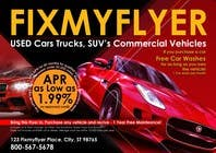 Contest Entry #31 for Design a Flyer for Local Car Dealership