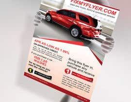 #38 cho Design a Flyer for Local Car Dealership bởi tahira11