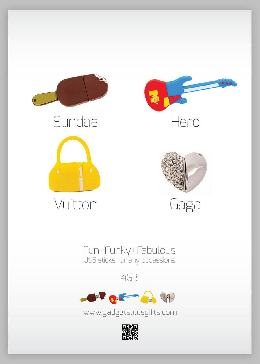 Penyertaan Peraduan #13 untuk Simple and fun poster required for unique gadgets