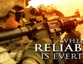 #38 untuk I Need a Main Image Designed for the Homepage of my Firearms Retail Website oleh clementalwin