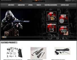 #6 para I Need a Main Image Designed for the Homepage of my Firearms Retail Website por motoroja