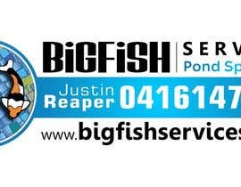 #53 para Design a Logo for Bigfish Services por Iddisurz