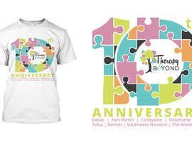 #106 for 10 year Anniversary Tshirt by asetiawan86