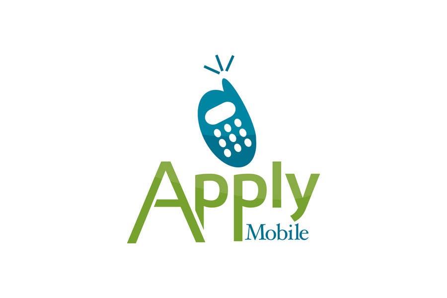 Kilpailutyö #132 kilpailussa Logo Design for Apply Mobile