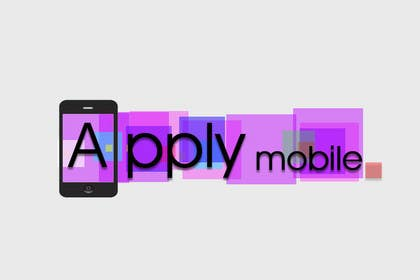 #210 para Logo Design for Apply Mobile por iffikhan