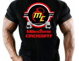 #65 untuk Design a T-Shirt for CrossFit / Fitness / Exercise / Workout oleh abhidesignlab