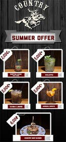 Bestimpact01 tarafından Summer offer for a country saloon bar 2016 için no 3