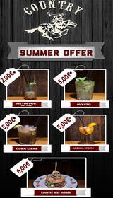 Bestimpact01 tarafından Summer offer for a country saloon bar 2016 için no 4