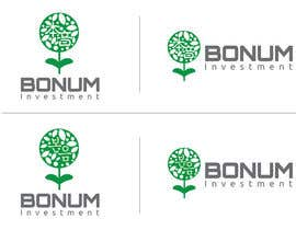 #150 para Logo Design for BONUM Investment por emilymwh