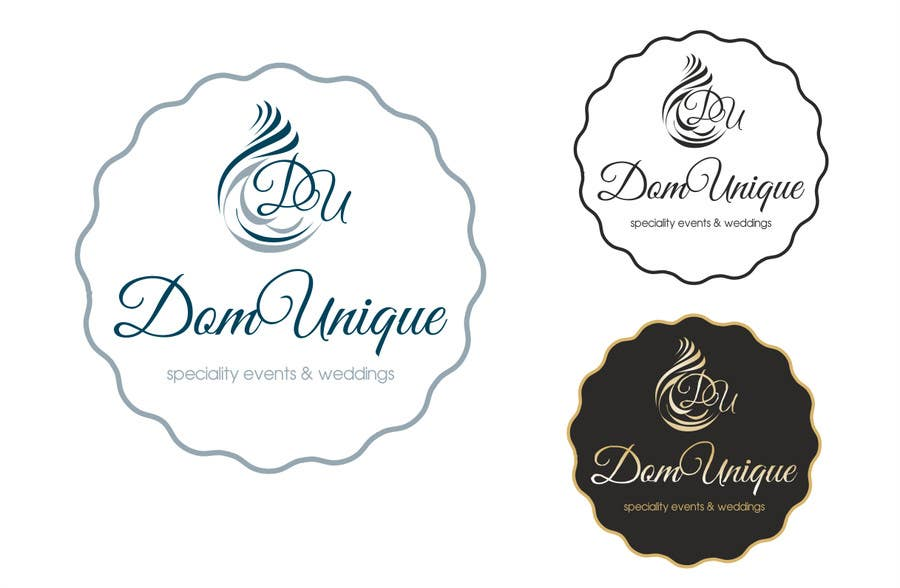 #22 for Develop a Corporate Identity for DomUnique Events by TOPSIDE