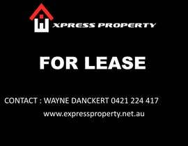 nº 1 pour Design 3 Sign Boards for Express Property real estate par oomayghazala