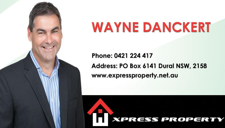 #37 for Design some Business Cards for Express Property real estate by kukadiyabipin