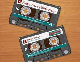 nº 6 pour Design Business Cards for Radio Lane Productions par midget