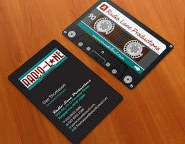 nº 17 pour Design Business Cards for Radio Lane Productions par midget