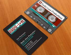 #18 for Design Business Cards for Radio Lane Productions af midget