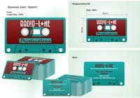 Contest Entry #20 for Design Business Cards for Radio Lane Productions