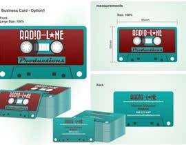 nº 20 pour Design Business Cards for Radio Lane Productions par marciusgomez