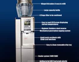 nº 5 pour Design a Product flyer for a Water Cooler par charlescxx