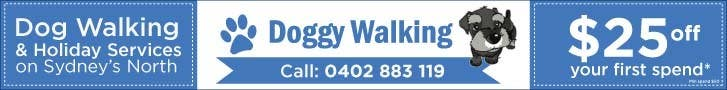 #12 for Design a Static Leaderboard Banner for Dog Walking Business by mpscreativeworks