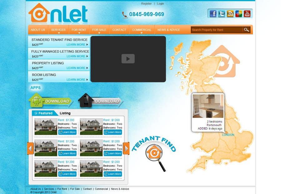 Inscrição nº                                         108                                      do Concurso para                                         Website Design for Onlet