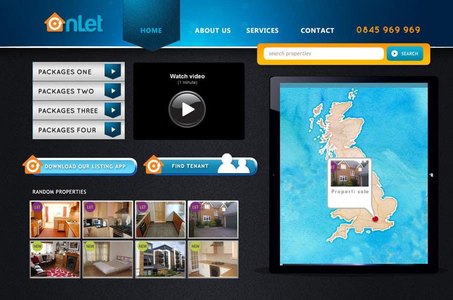 Inscrição nº                                         49                                      do Concurso para                                         Website Design for Onlet