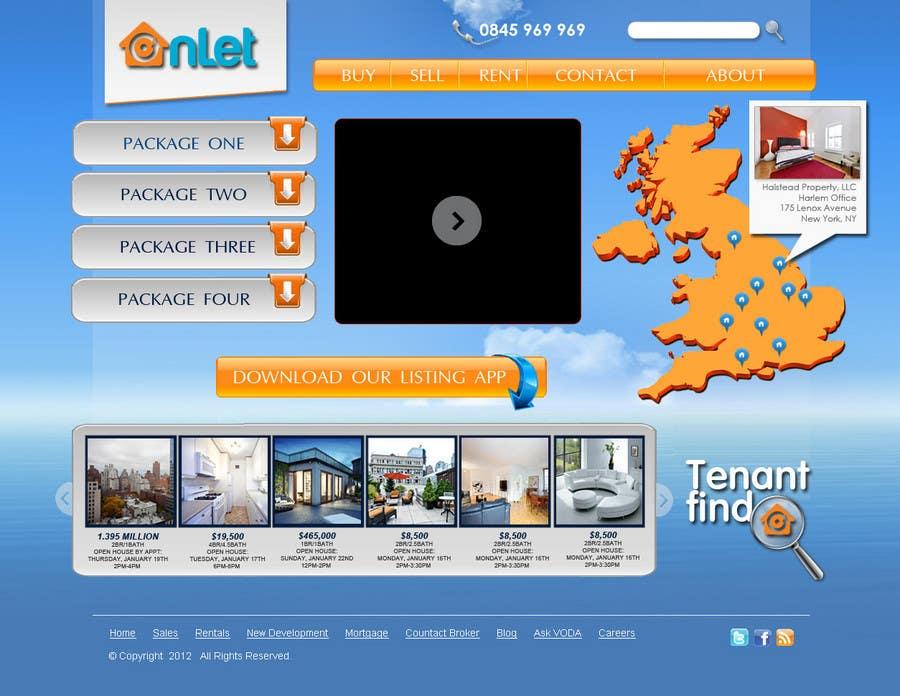 Inscrição nº                                         59                                      do Concurso para                                         Website Design for Onlet