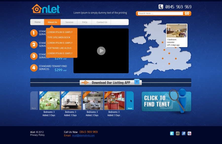 Конкурсная заявка №119 для Website Design for Onlet