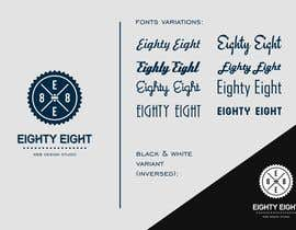 nº 92 pour Design a Logo for EightyEight - Web design studio par Lexik