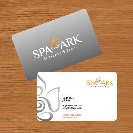 #25 for Design some Business Cards for Spa and Retreat Travel Agency by amaydualk