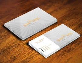 pointlesspixels tarafından Design some Business Cards for Spa and Retreat Travel Agency için no 47
