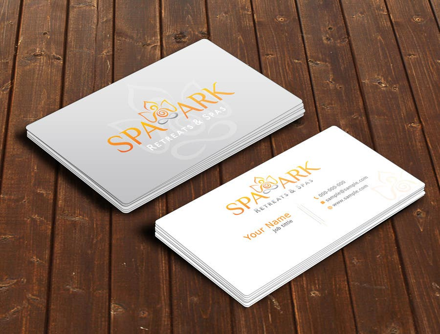 Entry #59 by nihon5 for Design some Business Cards for Spa and ...