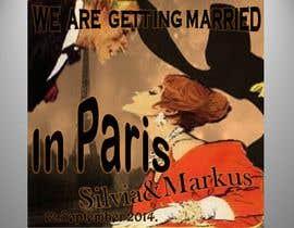 #33 for Design a Poster/Invitation for a Wedding Ceremony af vesnarankovic63