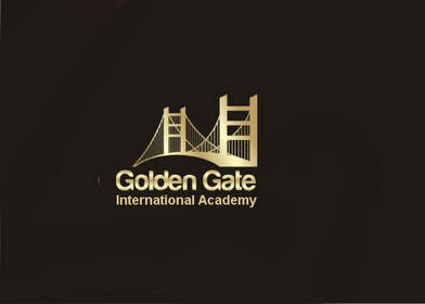 #9 para Design a Logo for Golden Gate International Academy por cristinandrei